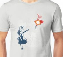 Banksy in wonderland Unisex T-Shirt