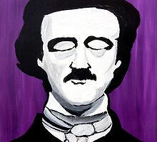Edgar Allan Poe by because-skulls