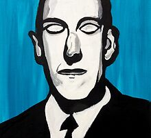 H.P. Lovecraft by because-skulls