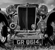 MG Roadster by herbpayne
