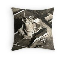 Cley Windmill 1880 Throw Pillow
