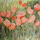 Wild Poppies by Kathie Nichols