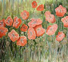 Wild Poppies by Kathie Nichols