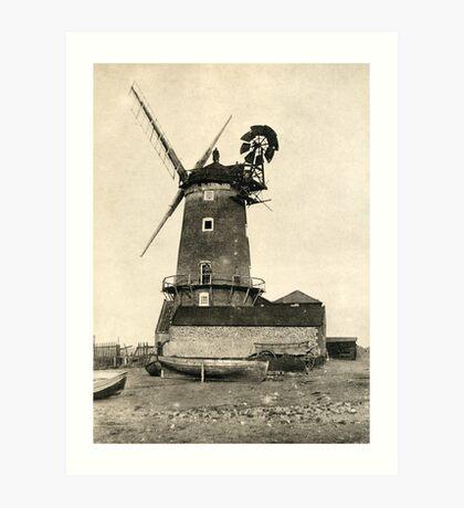 Cley Windmill 1880s Art Print