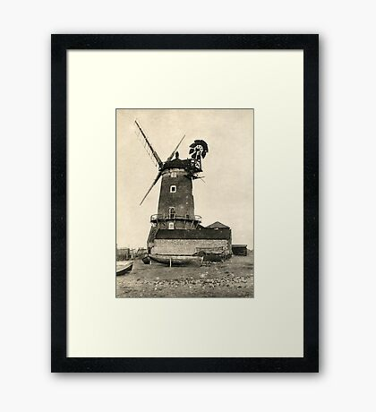 Cley Windmill 1880s Framed Print