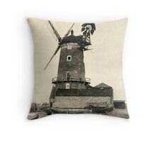 Cley Windmill 1880s Throw Pillow