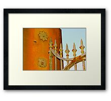 The Entrance Gate Callan Park NSW Framed Print
