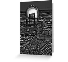 Black Milk Greeting Card