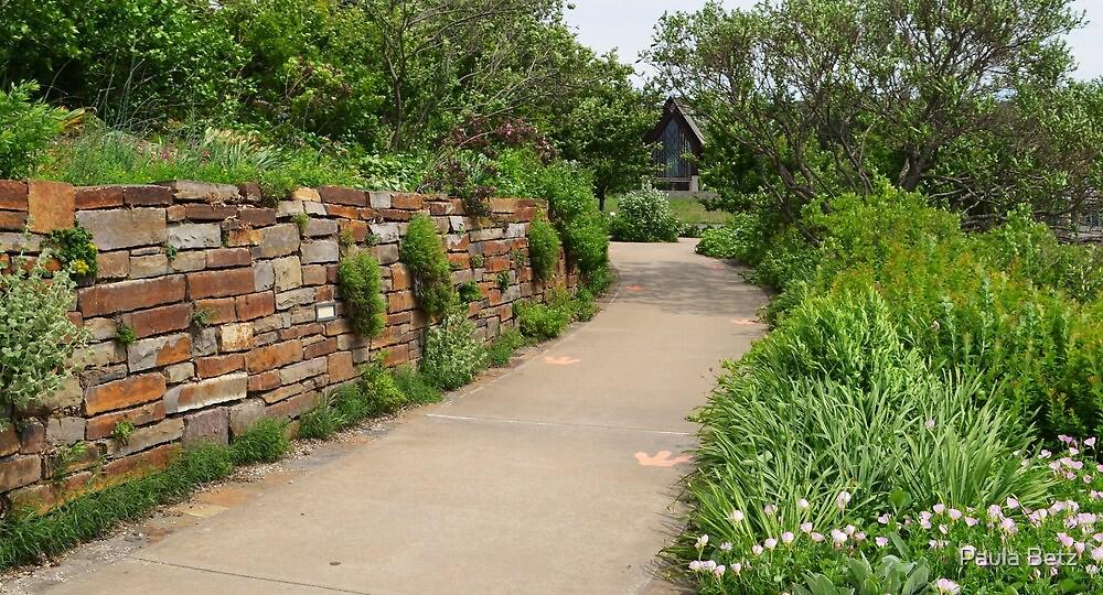 Little path leading to the little Chapel by Paula Betz