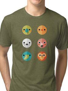 Smiley Faces - Set 3 Tri-blend T-Shirt