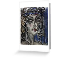 Think Like a Queen... Greeting Card