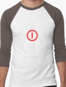 Power Off! Men's Baseball ¾ T-Shirt