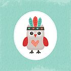 Hipster Owlet Mint by daisy-beatrice