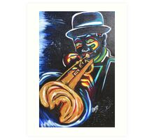 Color Me Jazzy Art Print