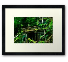 Spanish Castle Dreams Framed Print