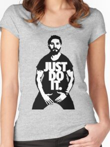 JUST DO IT!!! 2 Women's Fitted Scoop T-Shirt