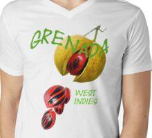 Nutmeg, Grenada, West Indies Mens V-Neck T-Shirt