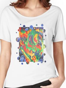 Painted Lady Women's Relaxed Fit T-Shirt
