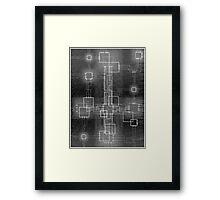Binary Crucifixion Framed Print