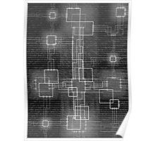 Binary Crucifixion Poster