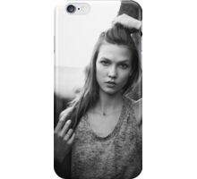 karlie black and white iPhone Case/Skin