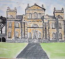 Seaton Deleval Hall by GEORGE SANDERSON