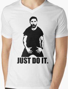 JUST DO IT!!! 3 Mens V-Neck T-Shirt