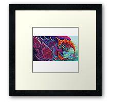 Hyper Beast | Colors Framed Print
