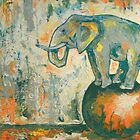 Elephant by ClaudiP