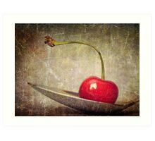 Cherry on Top Art Print