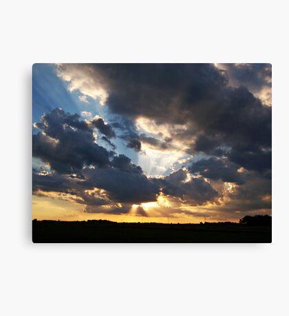 Heavenly Rays Canvas Print