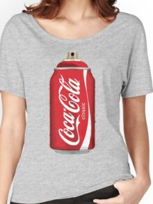 Coca Cola spray can Women's Relaxed Fit T-Shirt