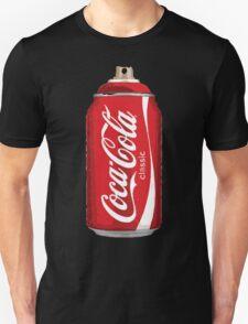 Coca Cola spray can Unisex T-Shirt