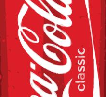 Coca Cola spray can Sticker
