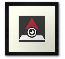 Illuminati Pokemon Framed Print
