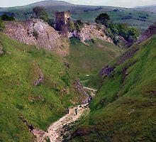 Cavedale, Limestone Way, Castleton. by Darren Burroughs