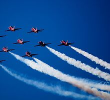 Red, White and Mostly Blue by Andy Clist