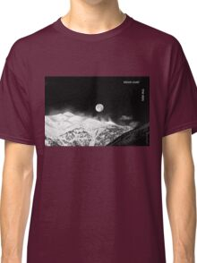 Moon over the Alps Classic T-Shirt