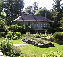 Cornell Plantations Herb Garden by Mark  Reep