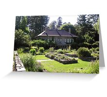 Cornell Plantations Herb Garden Greeting Card