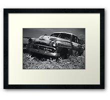 Et in Arcadia ego Framed Print