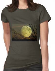 By Moonlight..... Womens Fitted T-Shirt