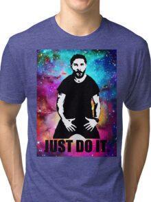 JUST DO IT!!! NEBULA GALAXY Tri-blend T-Shirt