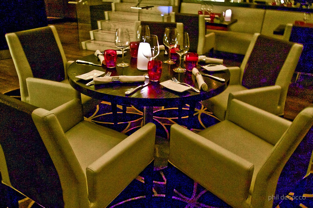 Table For Five by phil decocco