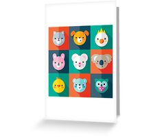 Pet Parade Greeting Card