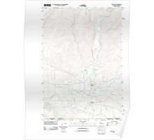 USGS Topo Map Washington Touchet 20110914 TM Poster