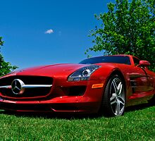 Mercedes SLS AMG Gull Wing Doors by Joe Jennelle