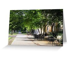 Lincoln Hall Greeting Card