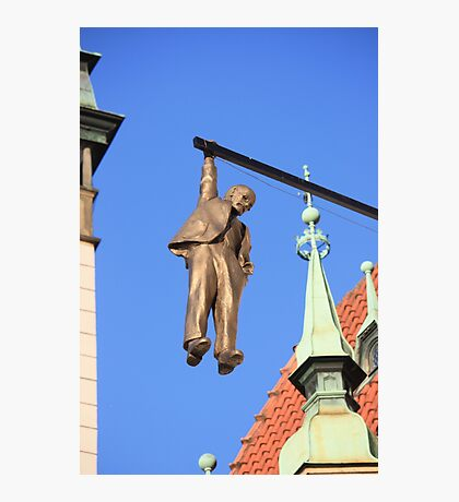 The Hanging Man at Olomouc Photographic Print