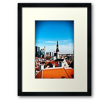 View from Toomepa. Framed Print
